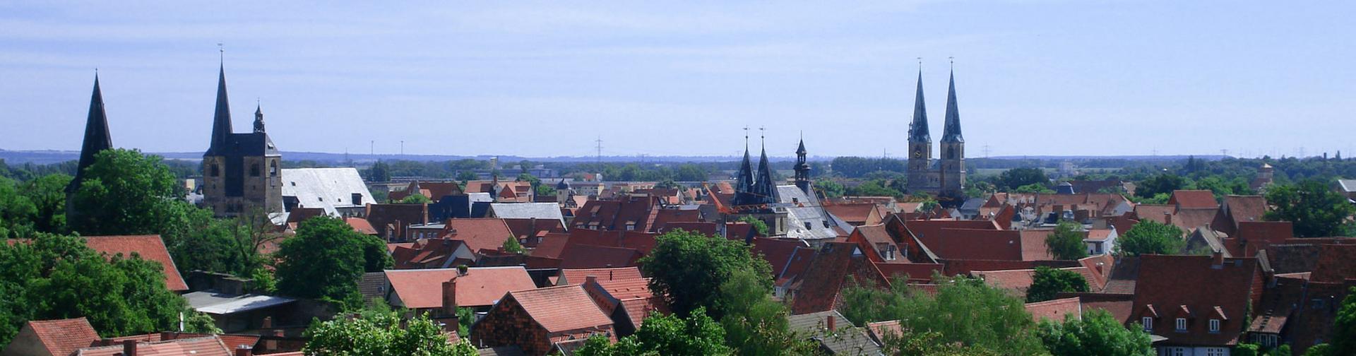 Quedlinburg. Panoramabild