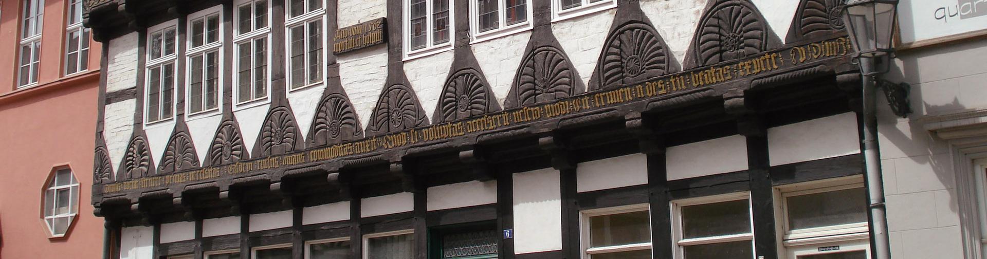 Quedlinburg. Das Schneemelcher Haus